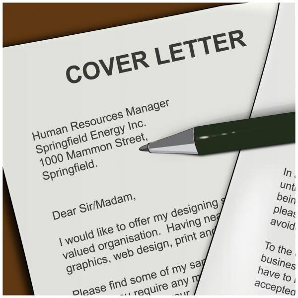 Things NOT To Include In Your Cover Letter